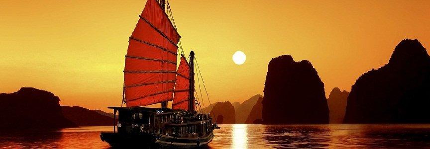 Soleil Couchant sur Halong