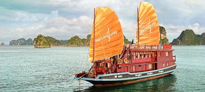 Croisière sur Jonque Huong Hai 2 jours 1 nuit