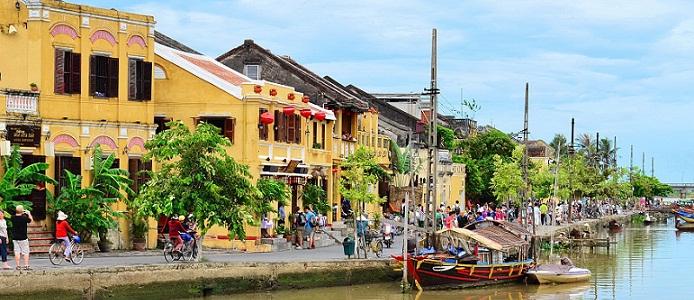 La ville de Hôi An province de Quang Nam