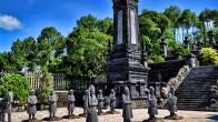 Le Mausolée de Khai Dinh en ville Hue