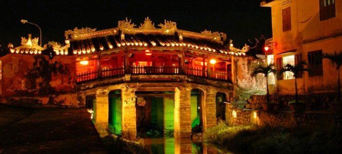 Pont japonais - Voyage au Vietnam Hoian