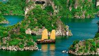 Comment visiter la baie d'Halong en hydravion