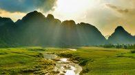 paysages du Vietnam dans le film Kong