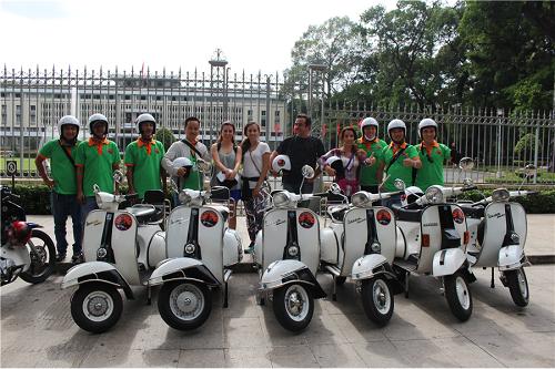 visiter Ho Chi Minh ville en moto
