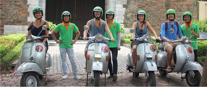 visiter hanoi en moto