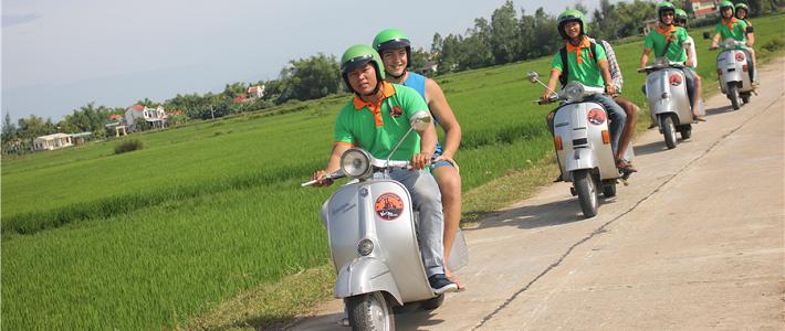 visiter hoian en moto