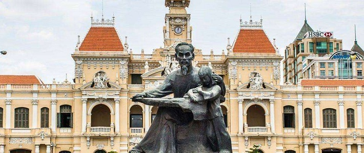 visite la ville Saigon