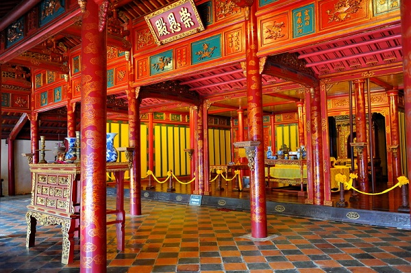 trajet Hoian Hue