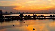 Le lac Ho Tay