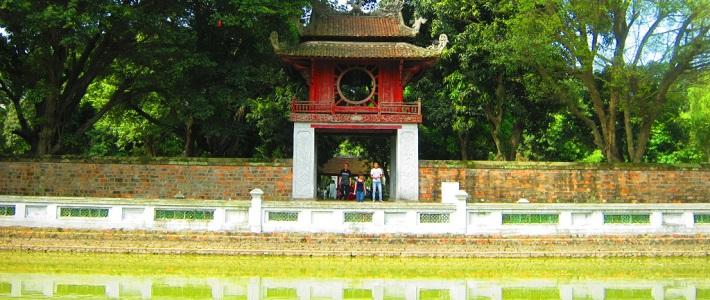 Temple de la Litterature a Hanoi