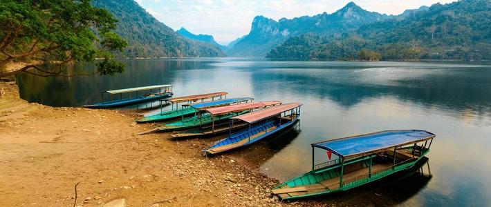 Visiter le lac Ba Be