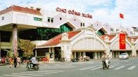 Le marché de Dong Xuan à Hanoi