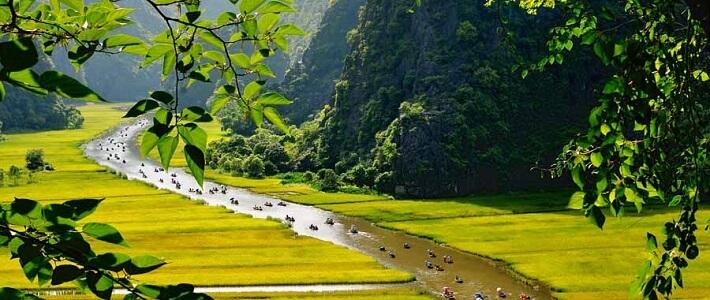 Visite Tam Coc Ninh Binh