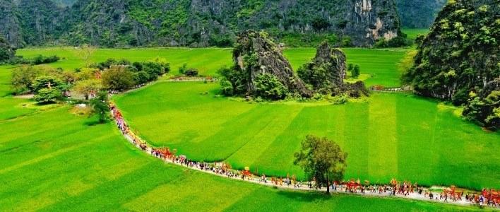 Voyage Tam Coc à vélo
