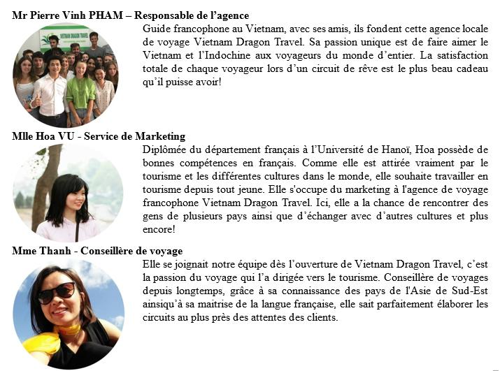 Équipe agence francophone vietnam