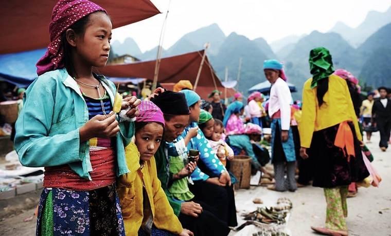 Marché montagnard de Hà Giang