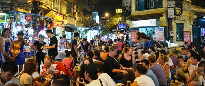 Découverte vieux quartier de Ha Noi