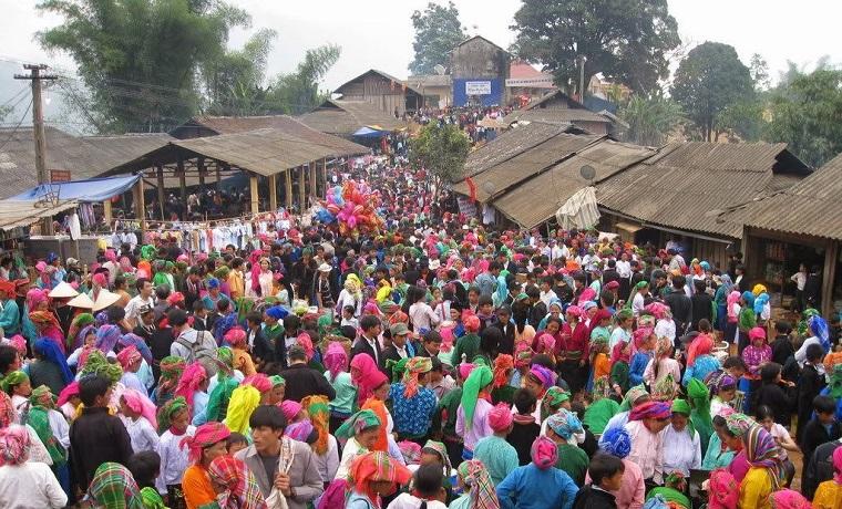 Marché à Ha Giang