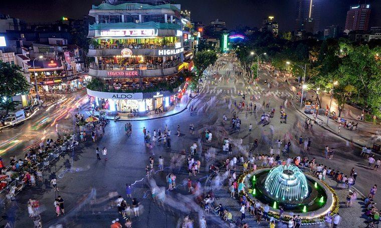 Rues piétonnes de Hanoi