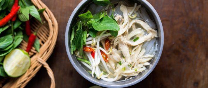 Soupe Pho, plat national - séjour Vietnam