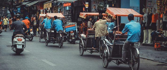 Exploration les vieux quartier par cyclo pousse