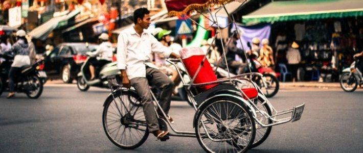 Visite ville Hanoi par cylco-pousse