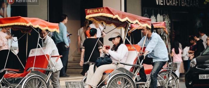 Découverte Hanoi par cyclo pousse