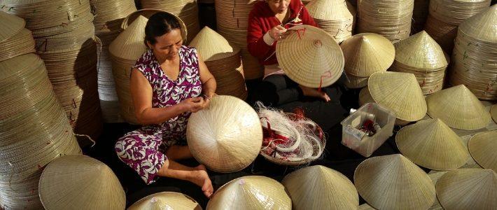 Le chapeau conique vietnamien