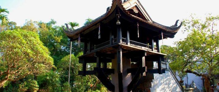 pagode à piller unique à Hanoi