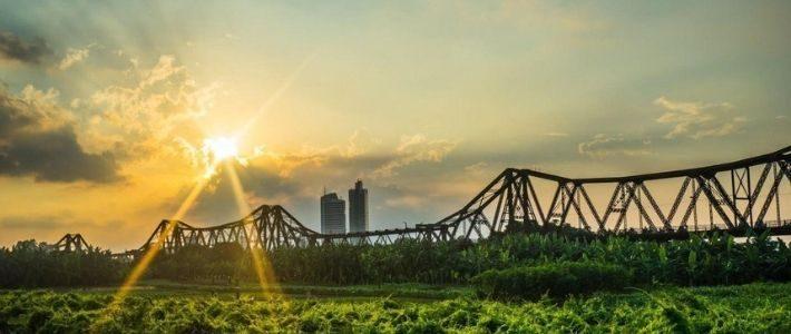 pont Long Bien de Hanoi