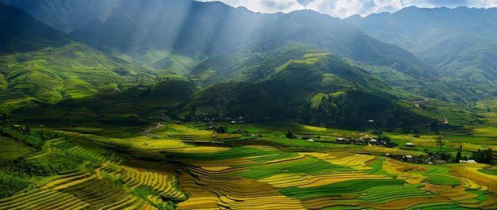 trTrekking à Pu luong Thanh Hoa