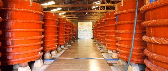 visite l'usine de sauce de poisson