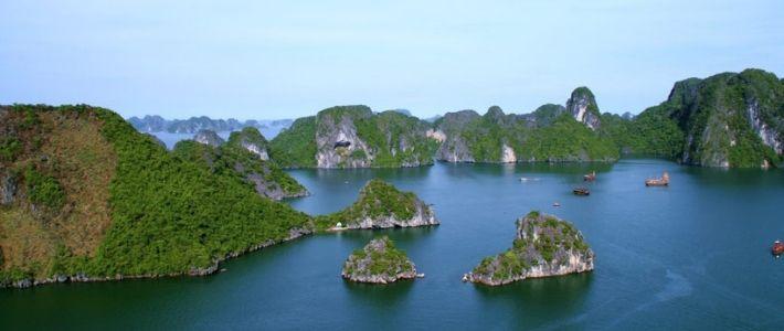 Visite baie Bai Tu Long au Vietnam