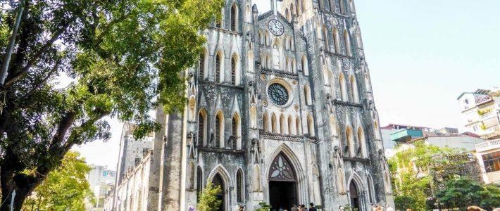 la cathédrale Saint Joseph à Hanoi