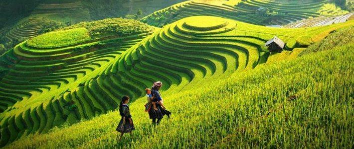 La ville de Sapa - Destinations Vietnam