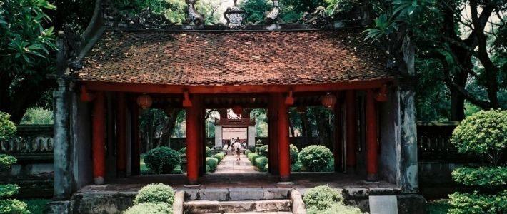 Visite temple de littérature