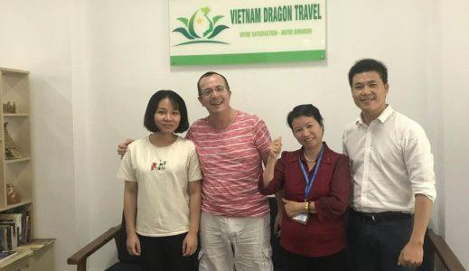 Excellente organisation pour voyage au vietnam avec agence de voyage francophone serieuse fiable