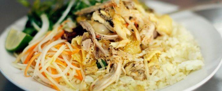 Riz au poulet de Hoi An