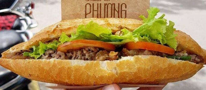 Sandwich vietnamien de Hoi An