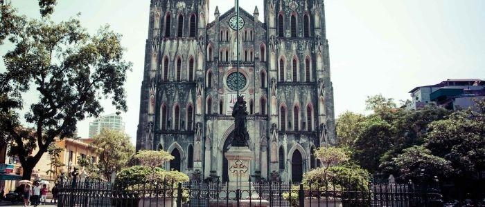plus belles églises au Vietnam